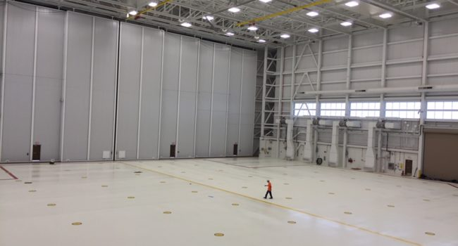 aircraft hangar floor coatings