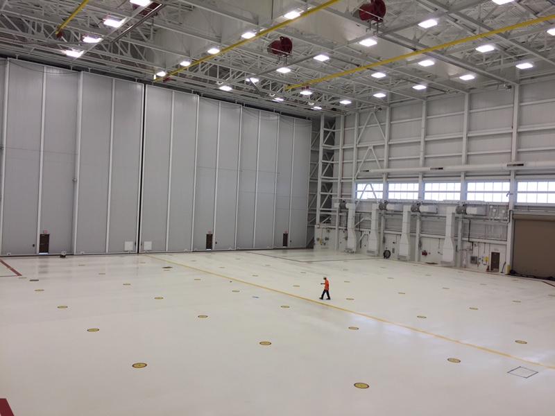 aircraft hangar floor coatings