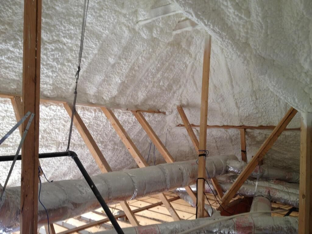 spray foam insulation Nashville attic