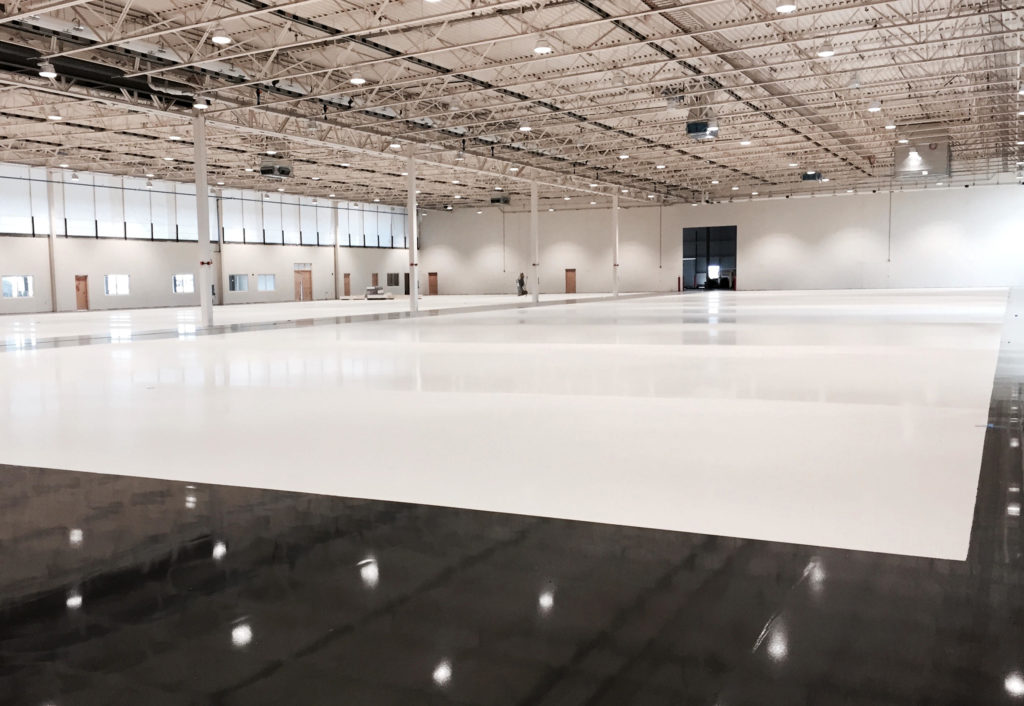 Military Aircraft Hangar Floor Coatings