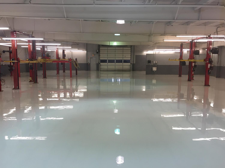 Auto Garage Floor Coatings Nashville